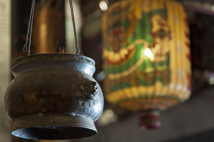 Penang Pot and Lantern