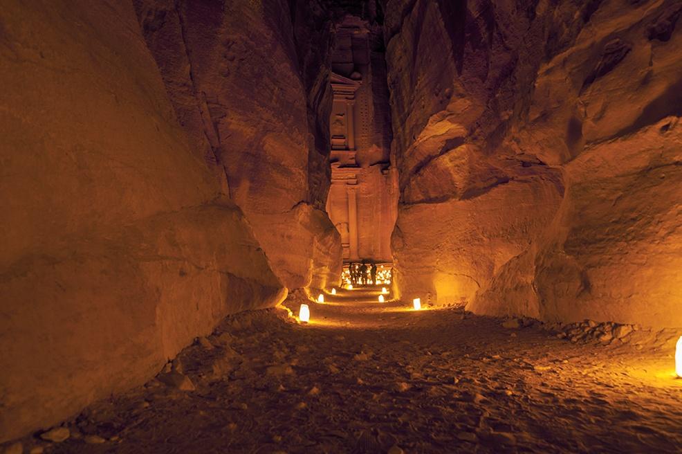 Petra By Night Last Look