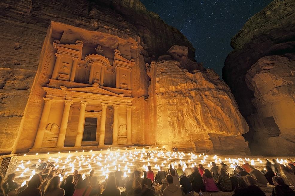 Petra By Night Treasury IV