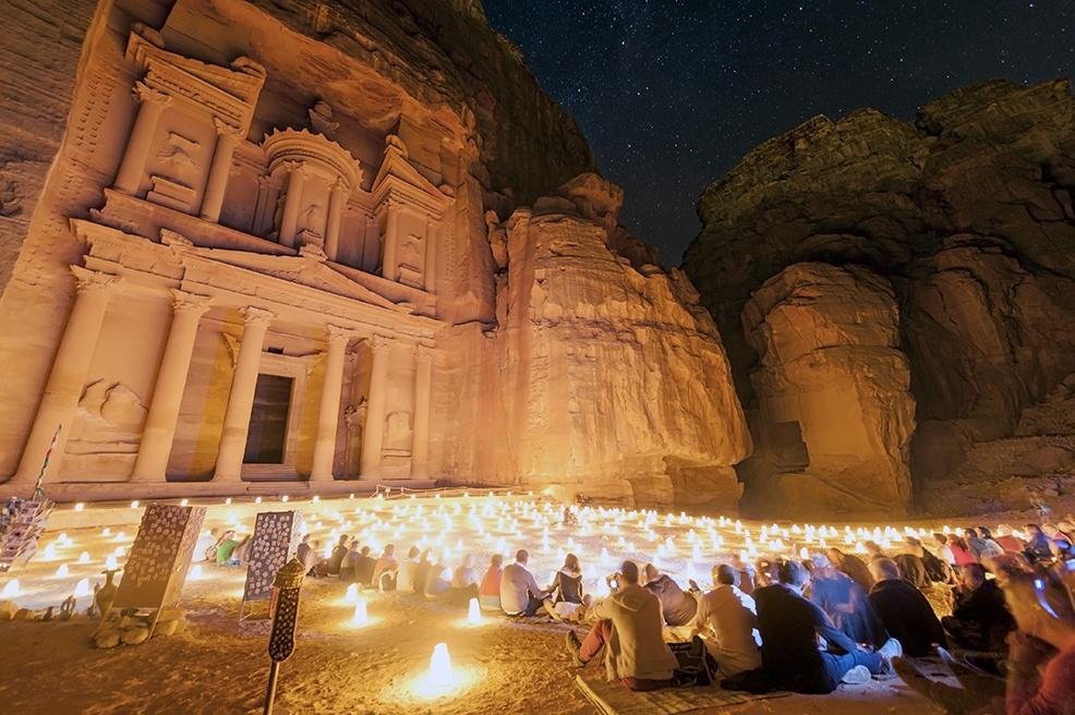 Petra By Night Treasury V