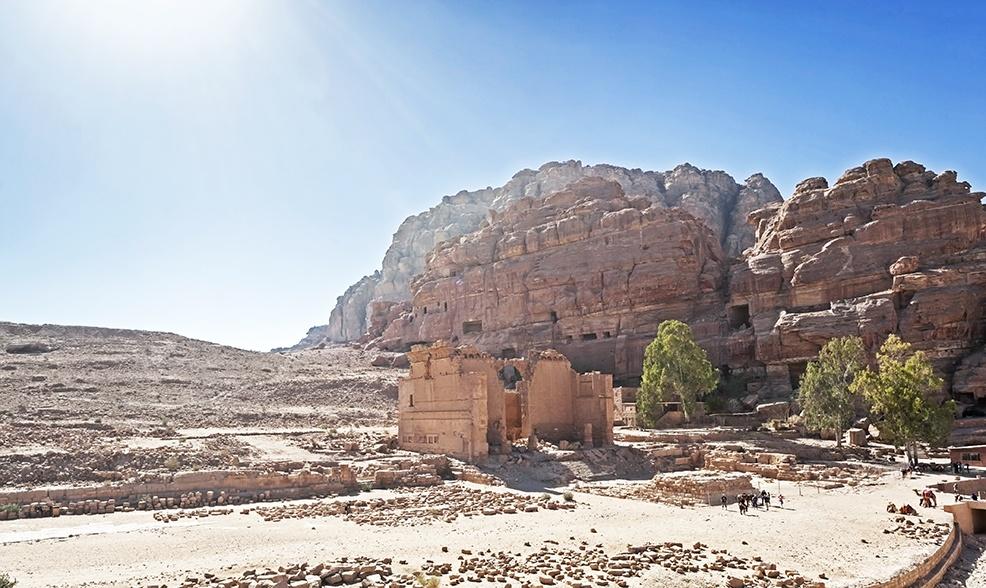 Petra Qasr el Bint al-Faraoun