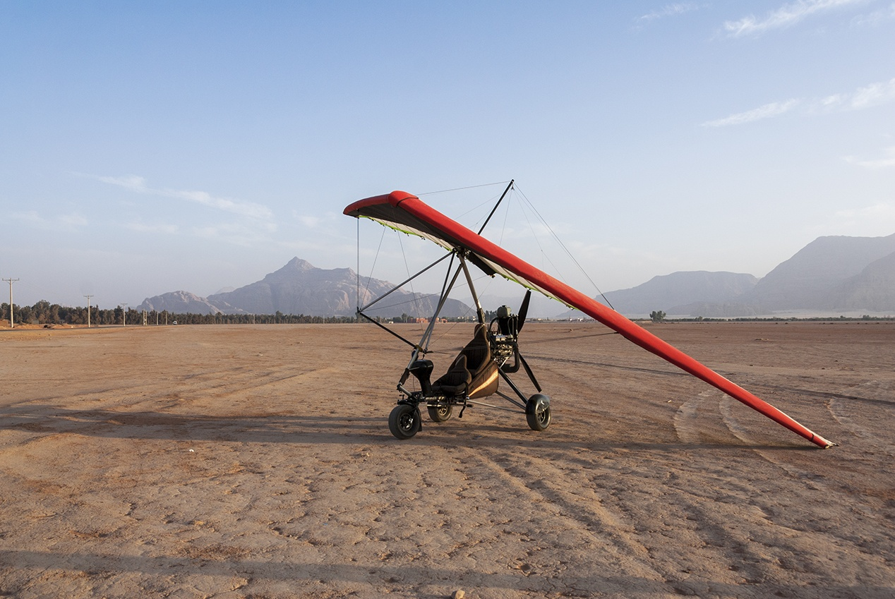 adventure activities wadi rum microlight