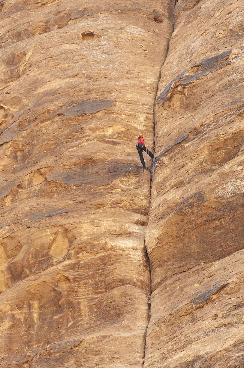 adventure activities wadi rum climbing