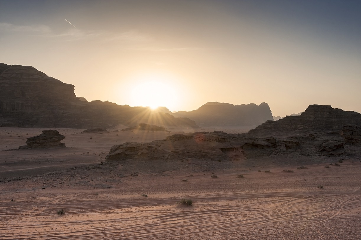adventure activities wadi rum sunrise
