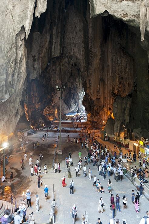 Kuala Lumpur Batu Cave Inside