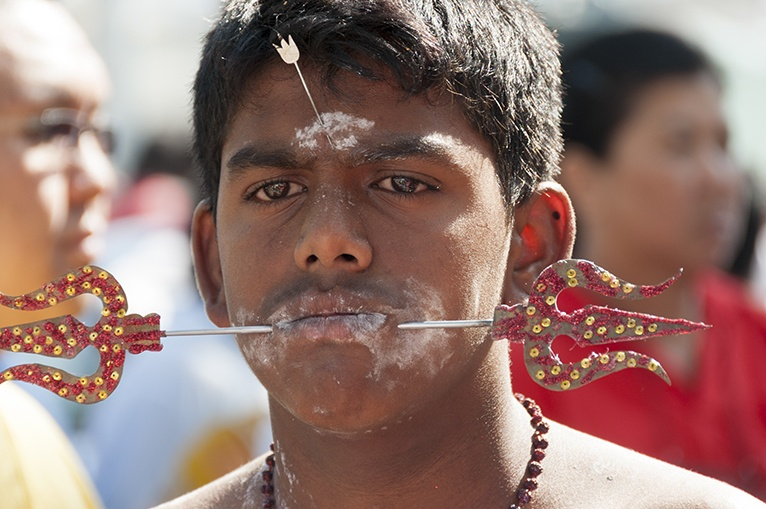 Thaipusam Reflective Eyes