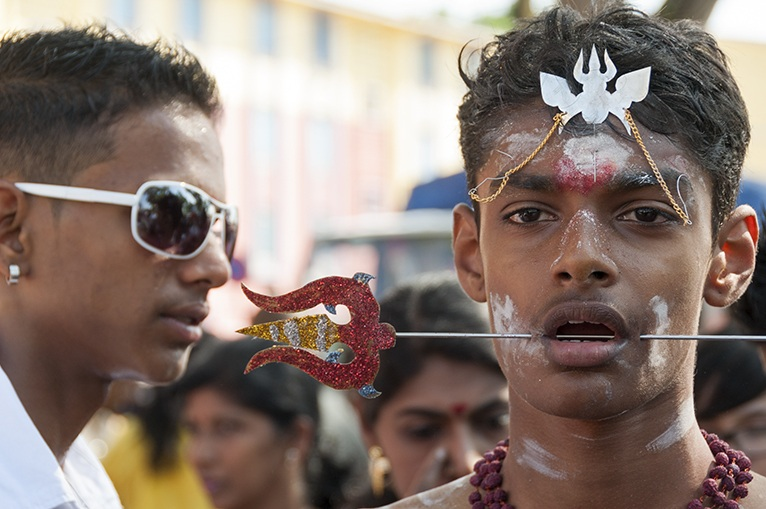 Thaipusam Two Worlds