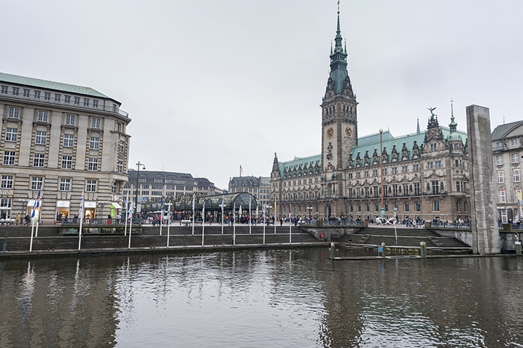 Rathaus across the Water
