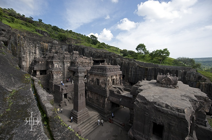 India Ellora rock temple