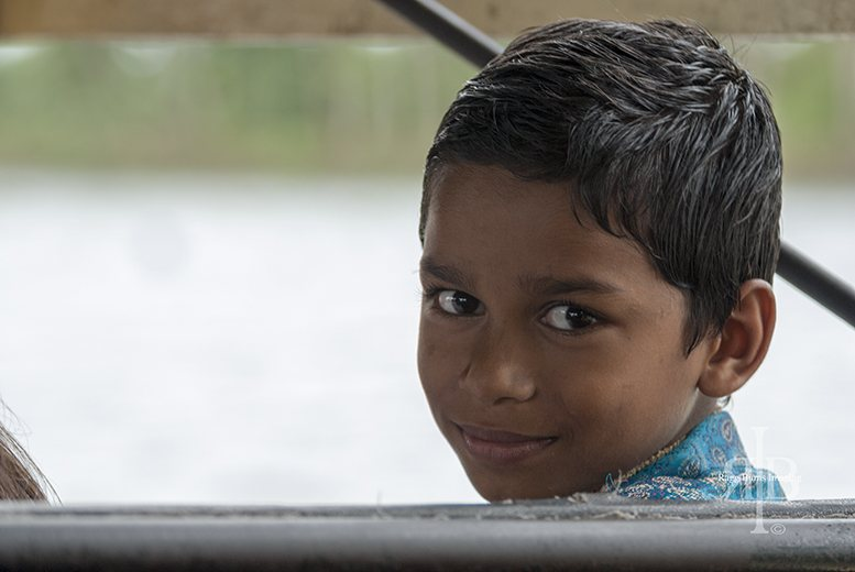 India Backwaters Twin Boy