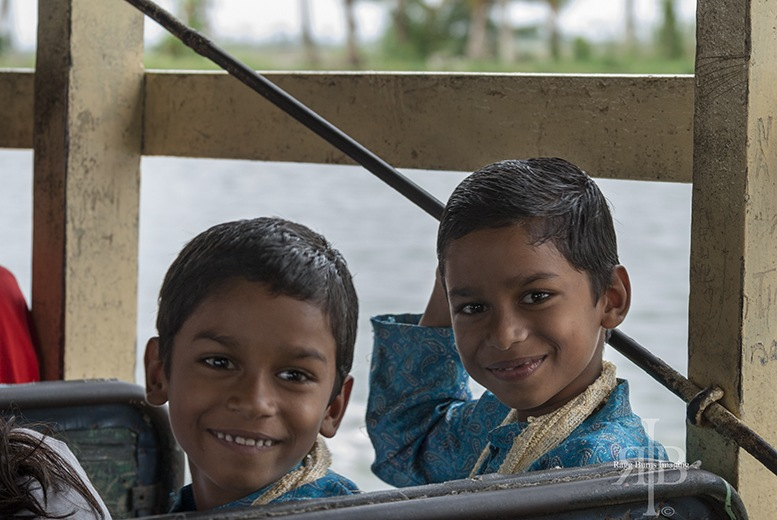 India Backwaters Twin Boys