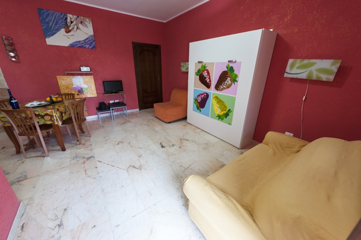 Italy Puglia Pizzicato Gargano Bed Up