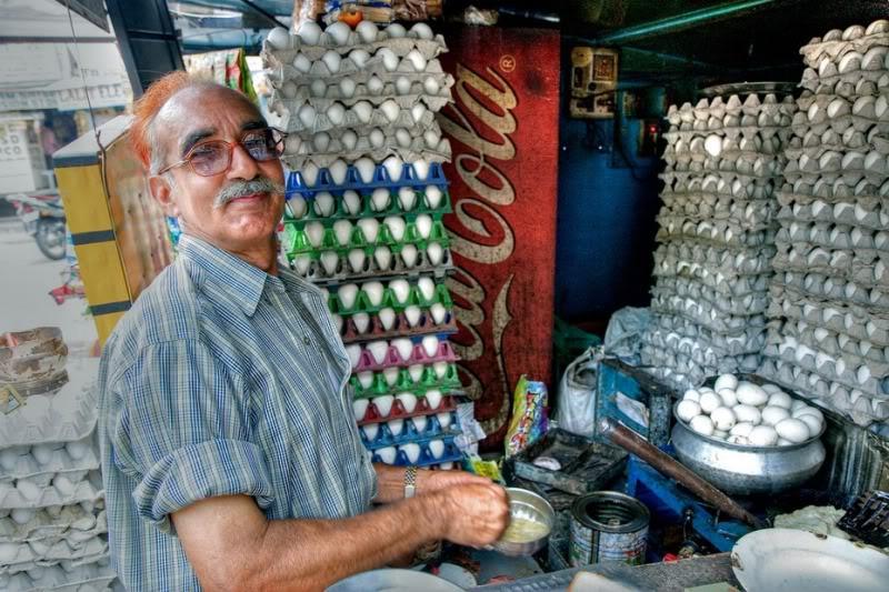 The Omelette Man in Jodhpur. Credits: bens1franklin