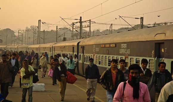 indian train platform