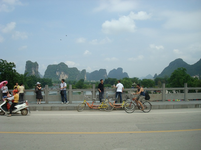 Guilin to Yangshuo bikes