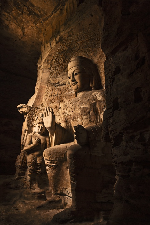 Buddha in Cave china first timers