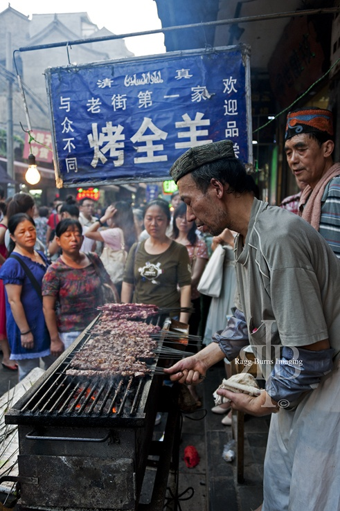 things to do in Xian muslim food