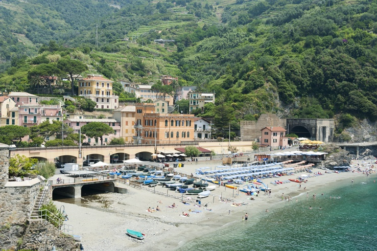 Cinque Terre by Train Monterosso