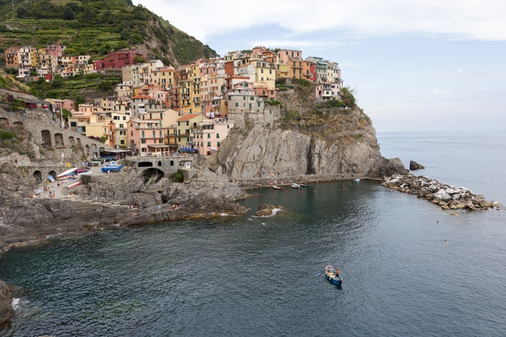 Cinque Terre by train Manarola