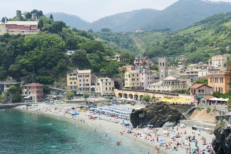 Cinque Terre by Train Trail Head