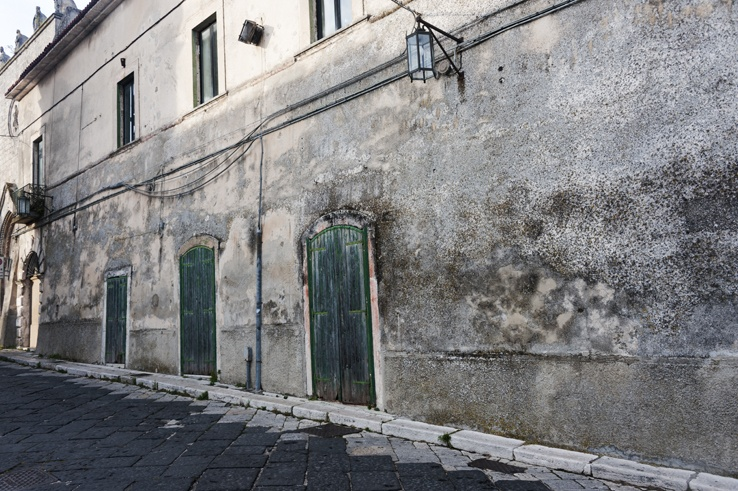 Monte Sant'Angelo Green Doors