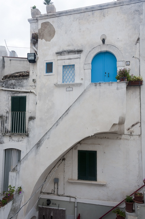 Monte Sant'Angelo Blue Door