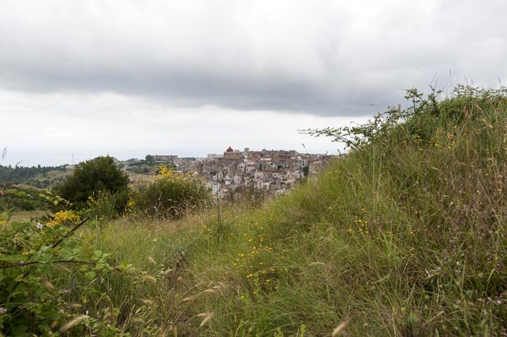 Vico Del Gargano view far