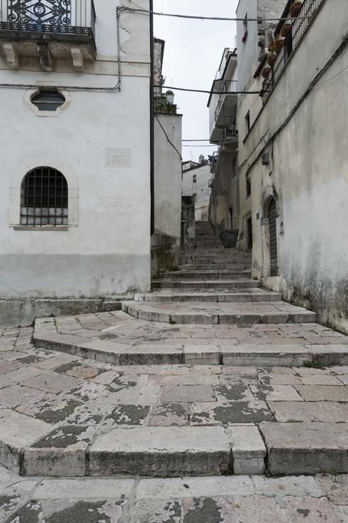 Vico del Gargano Steps