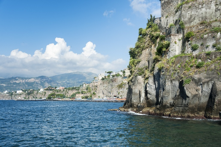 Italy Sorrento Coastline