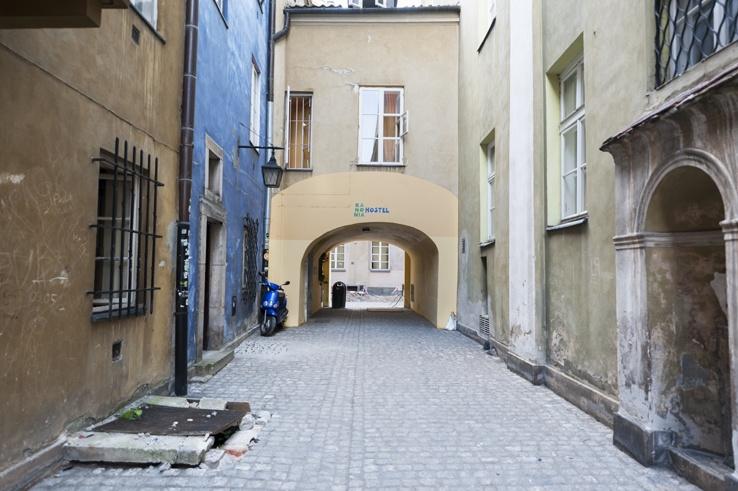 Kanonia Hostel Warsaw Arch