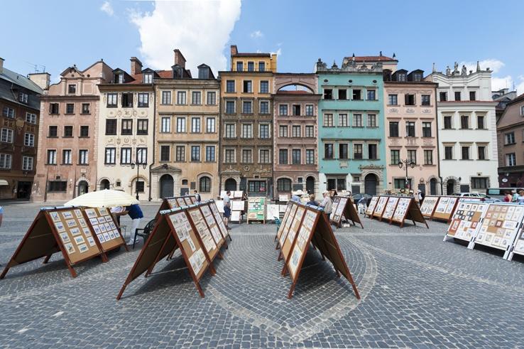 Kanonia Hostel Warsaw Market Square