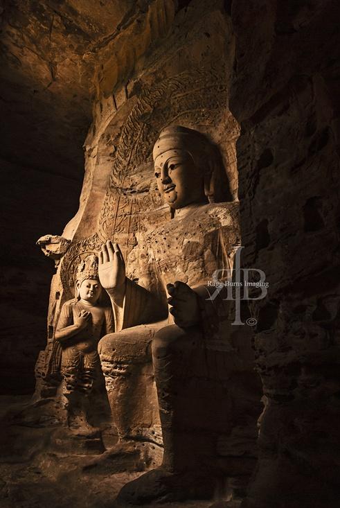 Yungang cave Datong