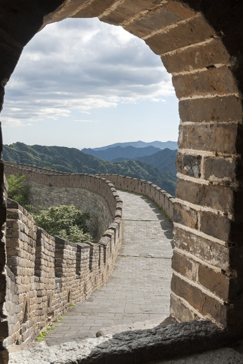 Great Wall Mutianyu window
