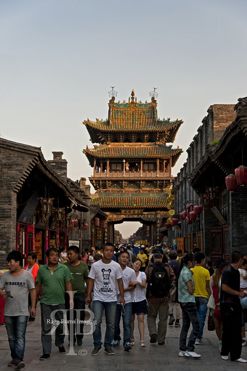 Market Tower travel Pingyao