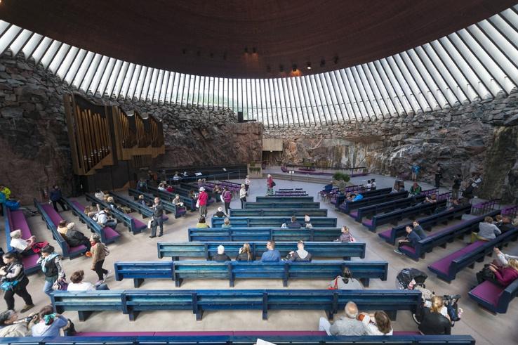 things to do in Helsinki Rock Church