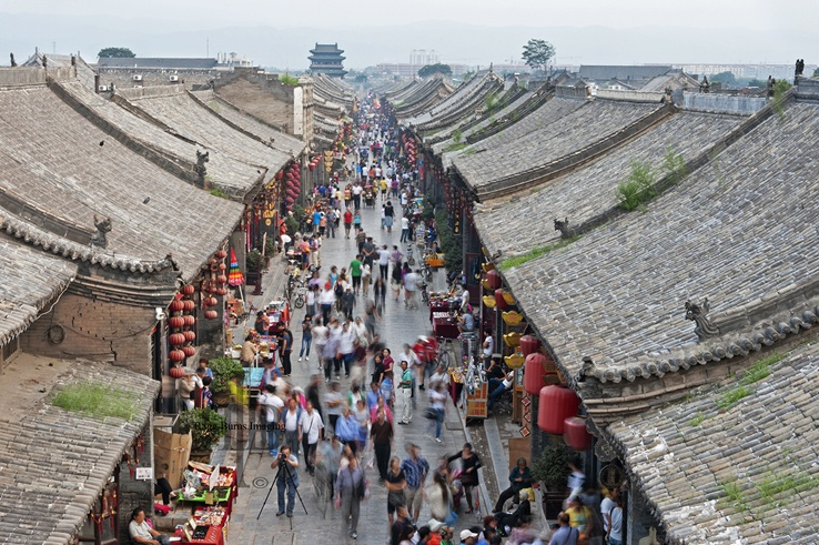 Moving Tower travel Pingyao