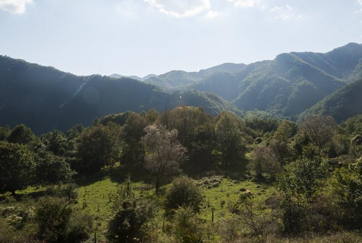 romagna apennines view