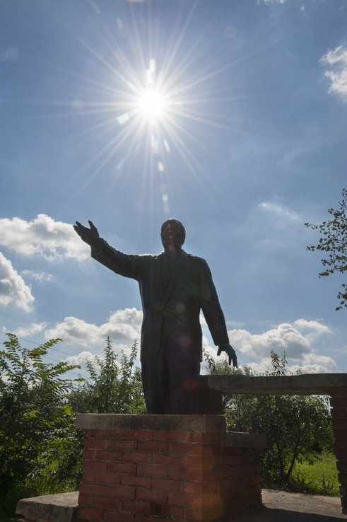 Budapest Monument Park statue