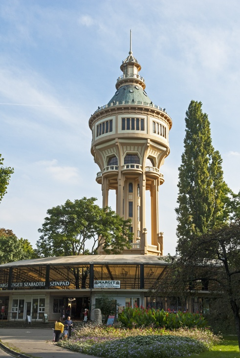 Margaret Island Budapest Water Tower