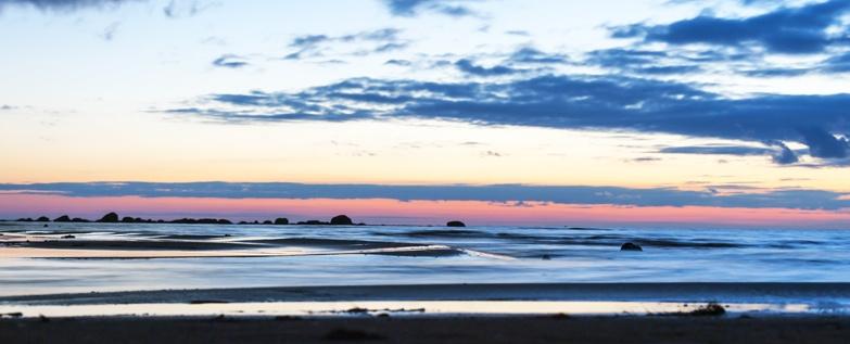 Maakalla island Kalajoki sunset
