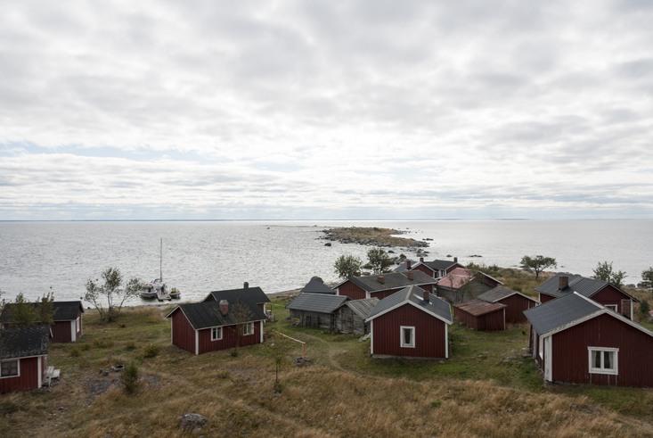 Kalajoki Village Above