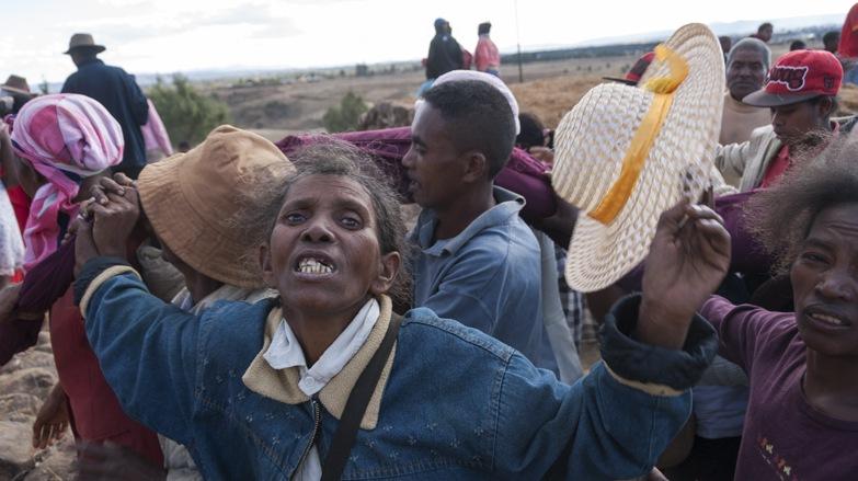 crazy malagasy woman