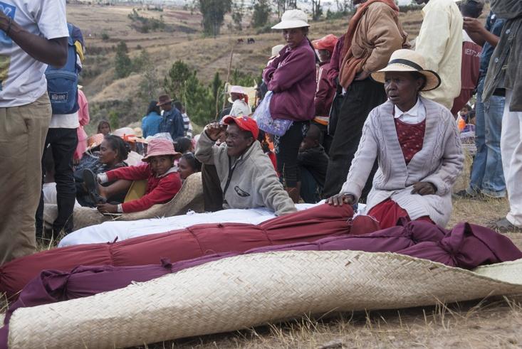 Madagascar Famadihana Resting