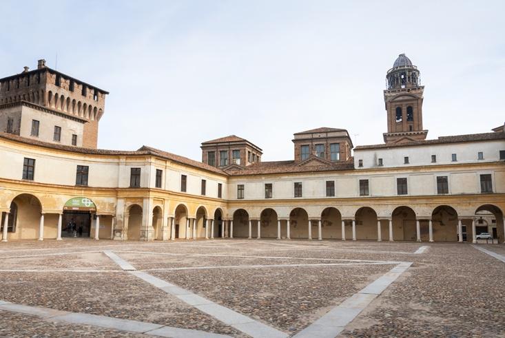 mantua palazzo ducale square