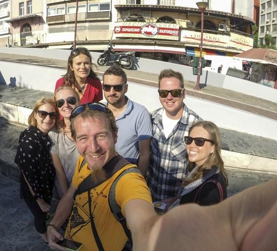 Athens Insiders selfie