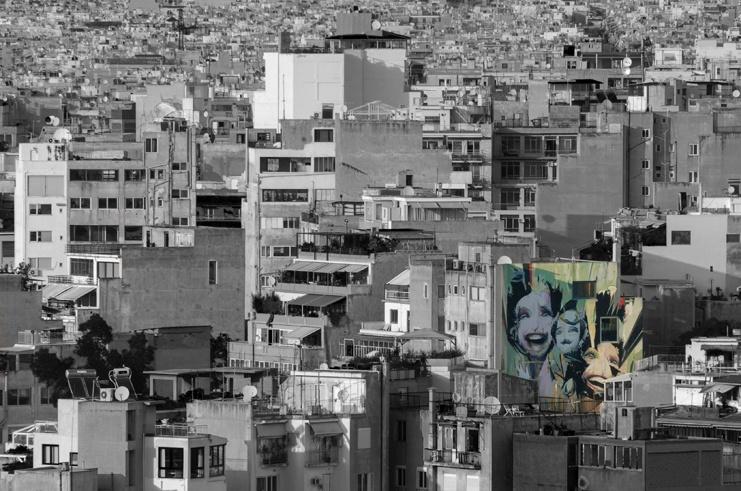 street art from acropolis