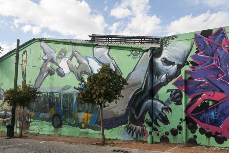 street art raiden bus