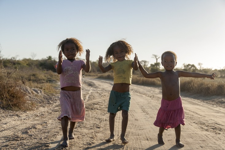 The Avenue of Baobabs Madagascar 3 Little Girls II