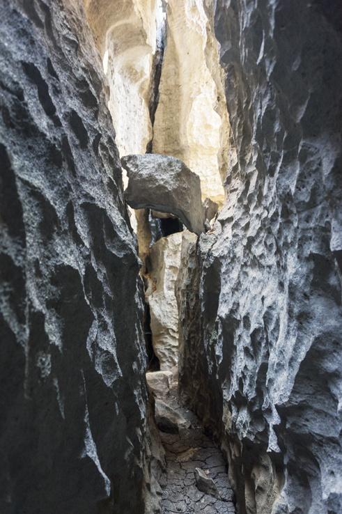 Tsingy de Bemaraha gorge
