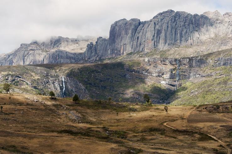 Andringitra national park waterfalls